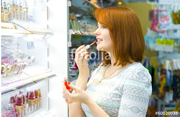 Women Buy Beauty Products