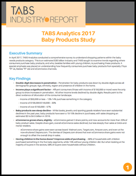 2017 Baby Products Study