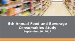 2017 Food & Beverage Study