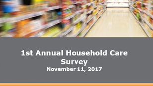 2017 Household Care Study