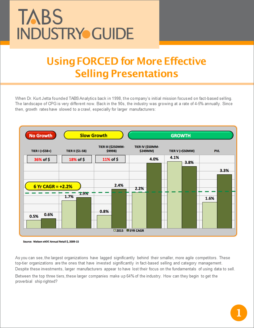 TABS 2017 Fact-Based Selling Guide