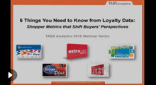 2018 Loyalty Data Webinar
