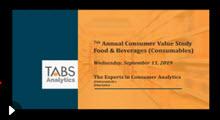 2019 TABS Food & Beverage Study Webinar