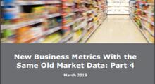 2019 New Analytics & Metrics - Part 4