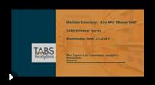 2019 TABS Online Grocery Webinar