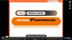 2016 Vitamin & Mineral Supplements Webinar