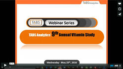 2016 Vitamin & Mineral Supplements Webinar