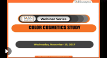 2017 Cosmetics Webinar