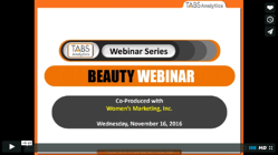 2016 Beauty Webinar