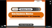 New Business Metrics Webinar - Part 1