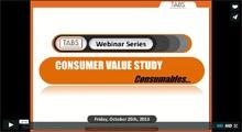 2013 Consumables Webinar