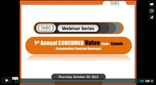 2015 Canadian Consumables Study Webinar
