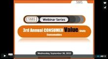 2015 Consumables Study Webinar