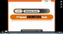 2015 Cosmetics Study Webinar