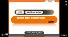 2014 Loyalty Cards Webinar