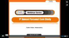 2017 1st Annual Personal Care Study Webinar