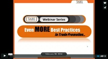 Trade Promotion Best Practices Webinar