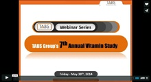2014 Vitamin Study Webinar