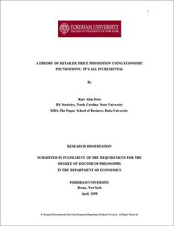 Kurt Jetta Dissertation