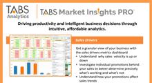 TABS Market Insights PRO™ Product Sheet