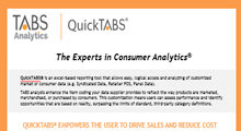 QUICKTABS® Product Sheet