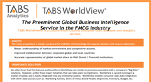 TABS WorldView® Product Sheet